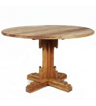 Wooden dining table 120cm