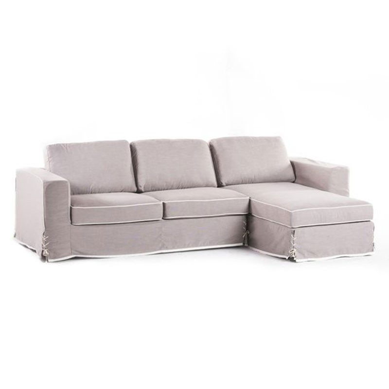 Lazy Bow right hand facing chaise end sofa